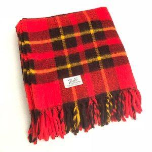 VTG Faribault Woolen Mills Fluff-Loomed Blanket